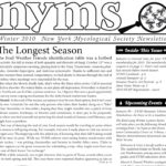 Winter 2010 NYMS Newsletter