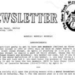 Spring 1994 NYMS Newsletter