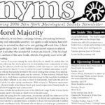 Spring 2006 NYMS Newsletter