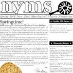 Spring 2008 NYMS Newsletter