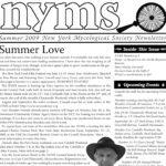 Summer 2009 NYMS Newsletter