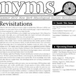 Summer 2012 NYMS Newsletter