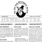 1996 Spring NYMS Newsletter