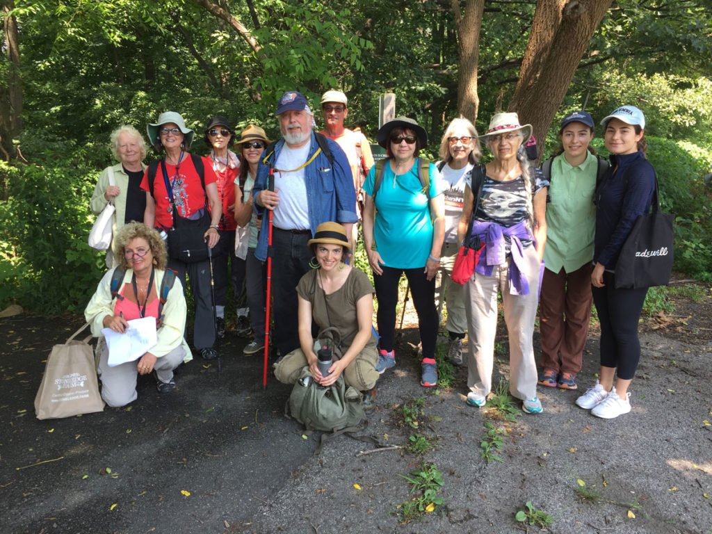 Van Cortlandt Park, NYMS pop up walk